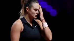 Sabalenka Alexandrova WTA Moscú