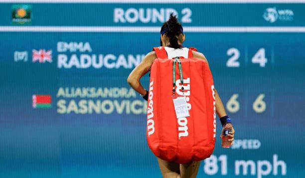 Raducanu eliminada Indian Wells
