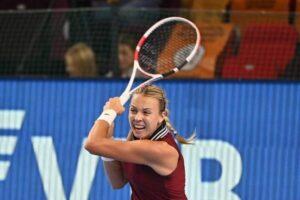 Kontaveit Alexandrova WTA Moscú