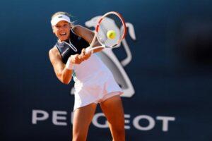Kontaveit Muguruza WTA Moscú