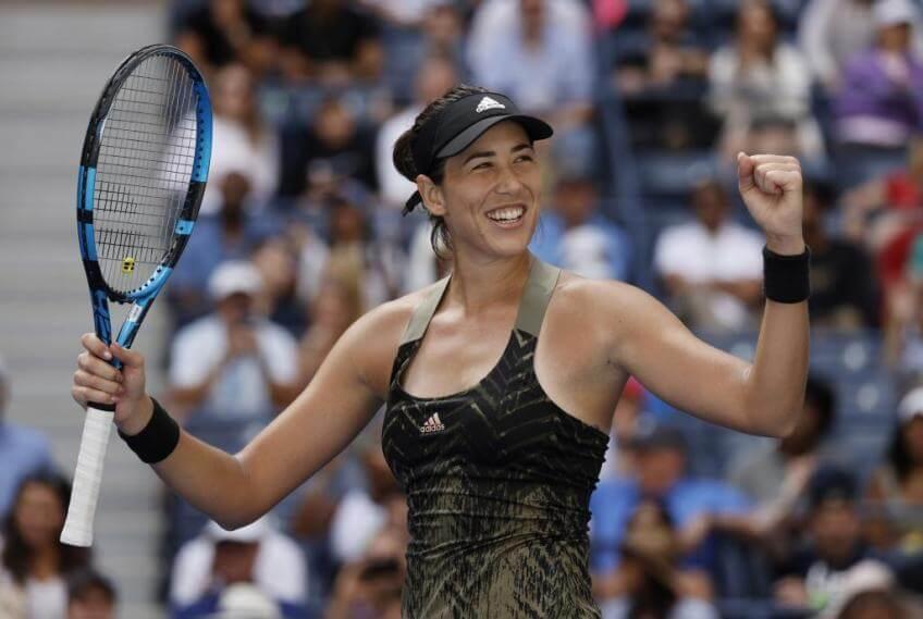 Muguruza Hontama WTA Chicago