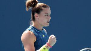 Sakkari WTA Finals 2021